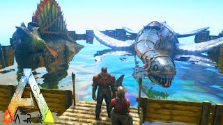 getlinkyoutube.com-Ark Survival Evolved 12 | Saddle Riding Plesiosaur / Spinosaurus | Gameplay / Letsplay 1080p HD
