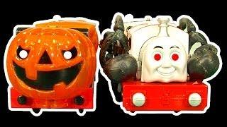 getlinkyoutube.com-Thomas The Tank Halloween Theme How To Make Thomas & Friends Scary Ghost Trains