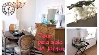 getlinkyoutube.com-Tour pela sala de jantar-Como decorei-Dining room tour