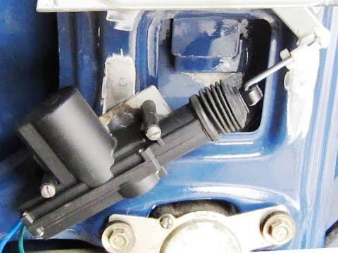 "Ремонт ""Оки"" ч. 48 - ставим электропривод отпирания замка двери багажника"