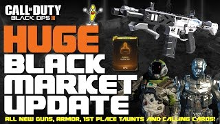 "getlinkyoutube.com-Black Ops 3 Black Market Update - Every New ""Epic Taunt"", Specialist Armor And Calling Cards!"