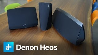 Denon Heos multi-room wireless speakers - hands on