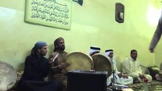 المداح السيد ميسر الحيالي في تكية السيد منصور النعيمي