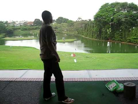 Emir Zakiar Iron 9 Swing Motion Golf (27 September 2009)