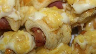 getlinkyoutube.com-Croissants salés ------- مملحات بالعجينة المروقة سهلة وشهية