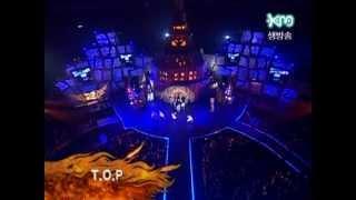 getlinkyoutube.com-[HD] KM Super Junior Dance Performance - T.O.P (Shinhwa) +  Knock Out