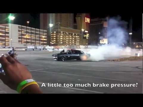 Crazy Hoonigan Drifting Party at SEMA!
