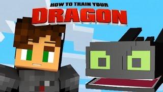 getlinkyoutube.com-Minecraft - HOW TO TRAIN YOUR DRAGON 2 - [15] 'We Meet Toothless!'
