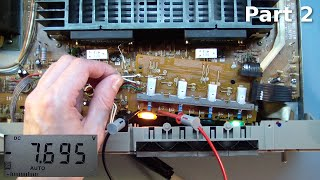 getlinkyoutube.com-Hitachi HA-4800 Amplifier Repair. Part 2.