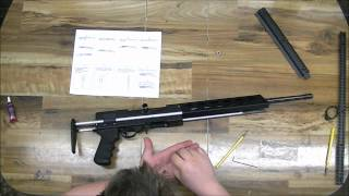 getlinkyoutube.com-Avenger Stock assembly onto a Ruger 10/22