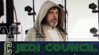 getlinkyoutube.com-Jedi Council - First Look at Luke Skywalker In Star Wars: The Force Awakens