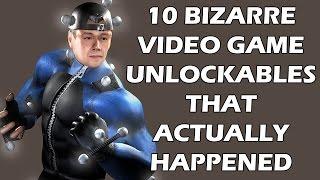 10 Bizarre Video Game Unlockables That Actually Happened
