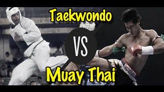 getlinkyoutube.com-Muay Thai Champion vs. Taekwondo Black Belt | Lawrence Kenshin