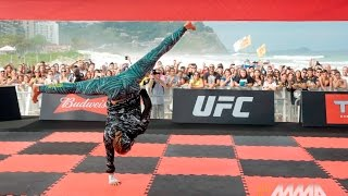 getlinkyoutube.com-UFC 190: Ronda Rousey Open Workout Session (Complete)