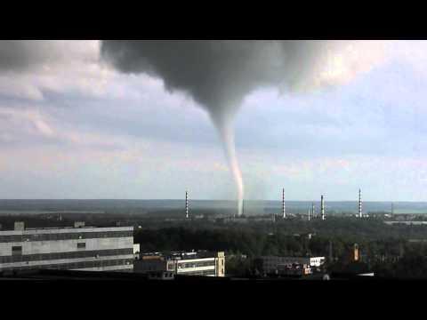 Торнадо в Обнинске 23.05.2013