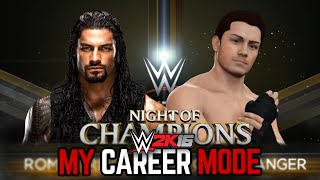 "getlinkyoutube.com-WWE 2K16 My Career Mode - Ep. 71 - ""NIGHT OF CHAMPIONS!!"""