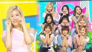 《EXCITING》 TWICE(트와이스) - CHEER UP @인기가요 Inkigayo 20160522