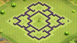 getlinkyoutube.com-Clash of Clans - Awesome Town Hall 7 Trophy/Clan War Base