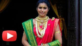 getlinkyoutube.com-Mhalsa AKA Surabhi Hande Shows Her Ethnic Jewellery - Jai Malhar - Zee Marathi Serial
