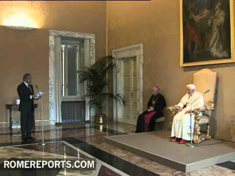 Pope speaks to European Broadcasting Union