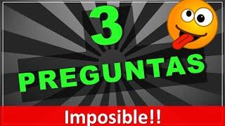 getlinkyoutube.com-¡¡Imposible!! 3 adivinanzas tus amigos nunca adivinarán! (adivinanzas cortas con respuestas)
