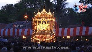 நல்லூர் ஸ்ரீ கந்தசுவாமி கோவில் 20ம் திருவிழா மாலை கைலாசவாகனம் 25.08.2019