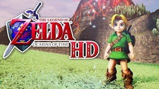 getlinkyoutube.com-Zelda: Ocarina of Time in HD! (Unreal Engine 4)