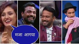 Raghav juyal sings a song for Remo sir in very funny style (Mere saamne wali khidki par) width=