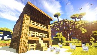 Chicken Pen/Coop Tutorial! - Minecraft