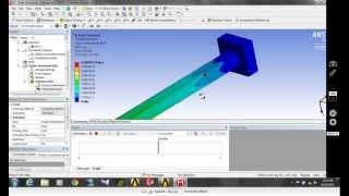 getlinkyoutube.com-cantilever beam analysis ansys