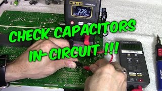 getlinkyoutube.com-3 Ways to Check Capacitors in Circuit with Meters & Testers