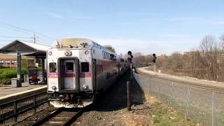 getlinkyoutube.com-Outbound MBTA Commuter Rail Train Leaving Framingham