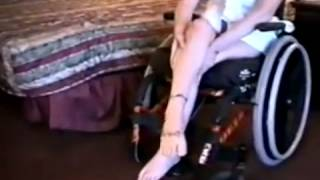 getlinkyoutube.com-Wheelchair Women legs are smooth