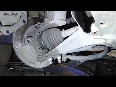 Замена наружной гранаты Renault Kangoo