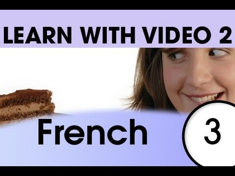 Learn French with Video - Top 20 French Verbs 1