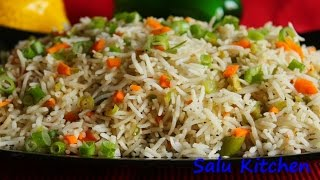 How to make Quick & Easy Vegetable Fried Rice
