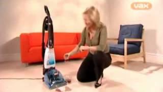 getlinkyoutube.com-Vax Rapide Deluxe Carpet Cleaner