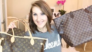 getlinkyoutube.com-LV NEVERFULL GM VS. MM | REVIEW/COMPARISON