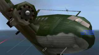 getlinkyoutube.com-IL2: crashes and shootdowns