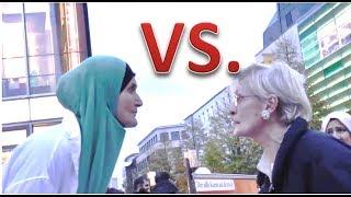 getlinkyoutube.com-DEUTSCHE VS. MUSLIMA  | Oma beleidigt den Islam