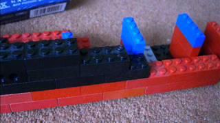 getlinkyoutube.com-How to make: LEGO RMS TITANIC model part 1
