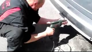 getlinkyoutube.com-Installazione dei sensori di parcheggio