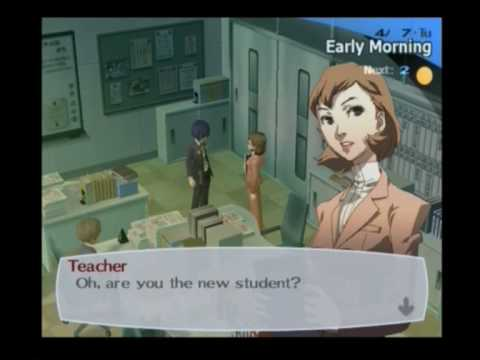 Persona 3 FES Walkthrough Hard Difficulty With That Crazy Commentary Son! Part 2 &quot;School&quot;