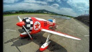 getlinkyoutube.com-Gee Bee R3 Big radial engine Moki 400