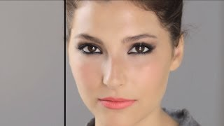 getlinkyoutube.com-Bella Heathcote - Makeup Look I Did On Bella Heathcote for Chanel Dinner Party