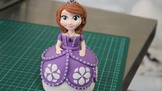 getlinkyoutube.com-Sofia the First Fondant Figurine
