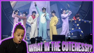 (BTS) BT21 Debut Stage   Anpanman (Prom Party) | Reaction!