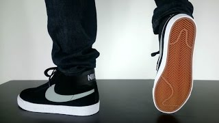 getlinkyoutube.com-NIKE SB BLAZER PREMIUM SE black base grey white