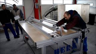 getlinkyoutube.com-Polycarbonate bending with HERZ HBRK