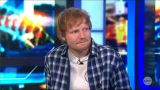 getlinkyoutube.com-Ed Sheeran's BEST Live Australian Tv Interview 25-9-2014